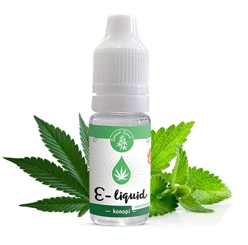 E liquid CBD spearmint 2